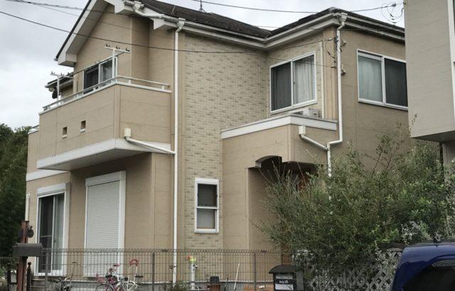 栃木県宇都宮市 外壁塗装 屋根塗装 ラジカル制御塗料と遮熱塗料使用