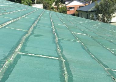 屋根カバー前