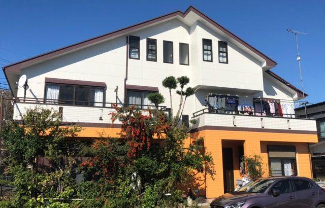 外壁塗装・屋根塗装・コーキング工事 栃木県宇都宮市 N様邸