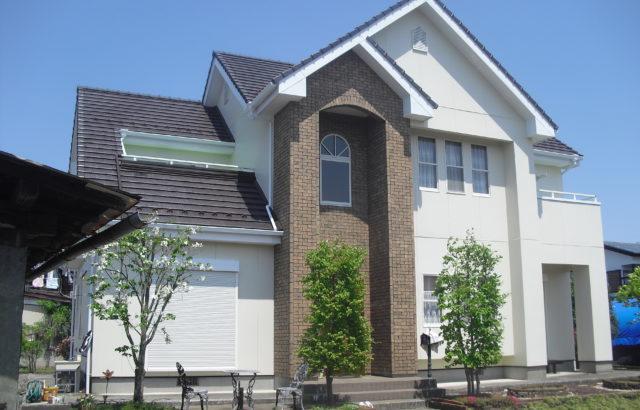 栃木県小山市 O様邸 外壁塗装 屋根塗装 コーキング工事