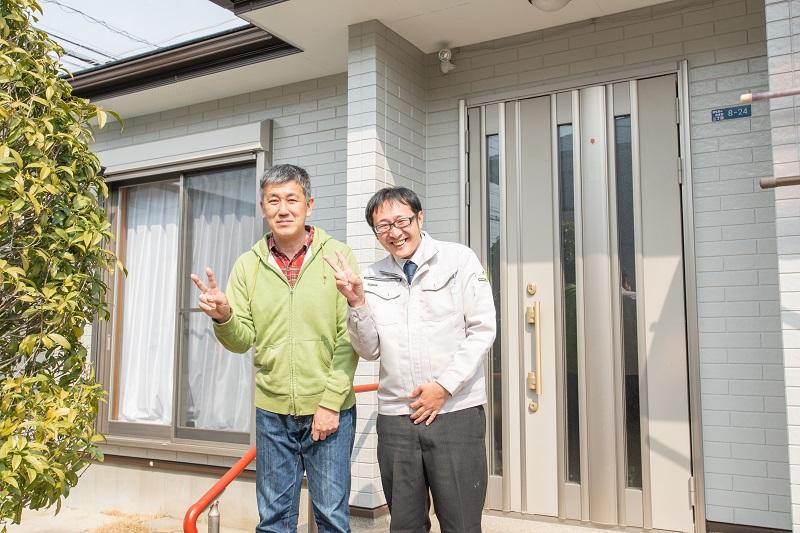 栃木県古河市 I様邸 外壁塗装
