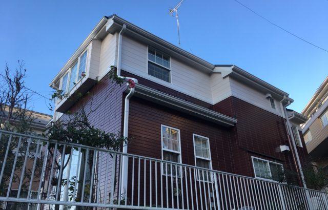 外壁塗装、雨どい塗装、コーキング工事 栃木県宇都宮市 M様邸