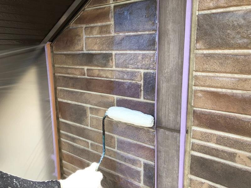 外壁塗装クリアー塗装