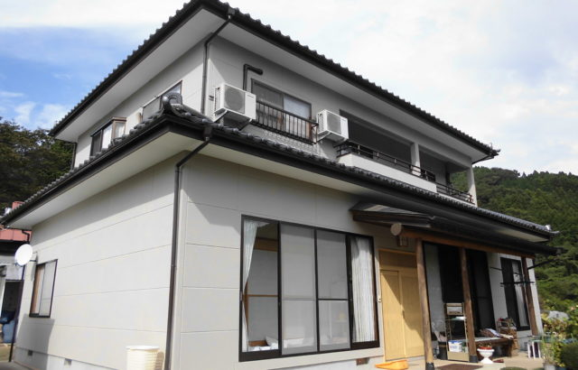 栃木県小山市 外壁塗装・付帯部塗装 ルミロンフッ素