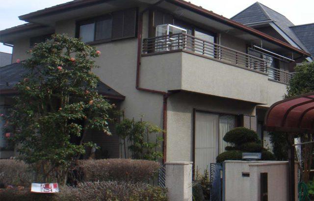 栃木県小山市 外壁塗装 屋根塗装 付帯部塗装 ナノコンポジットW