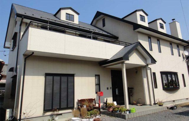 栃木県上三川町 外壁塗装 コーキング取り替え ピュアアクリル