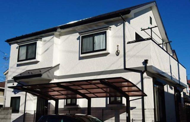 栃木県栃木市 外壁塗装、屋根塗装 ピュアコート
