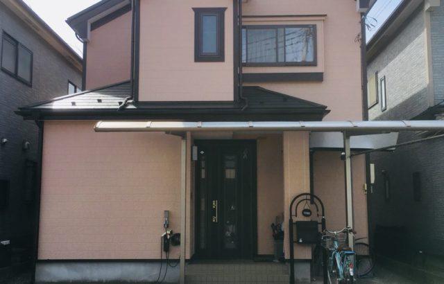上三川町 H邸 外壁塗装 屋根板金 ルミステージ弱溶剤GT 外壁 ルミステージXV DEWマット