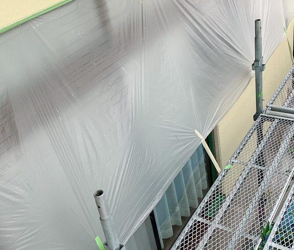 栃木県鹿沼市 外壁塗装 屋根塗装 下地処理 養生
