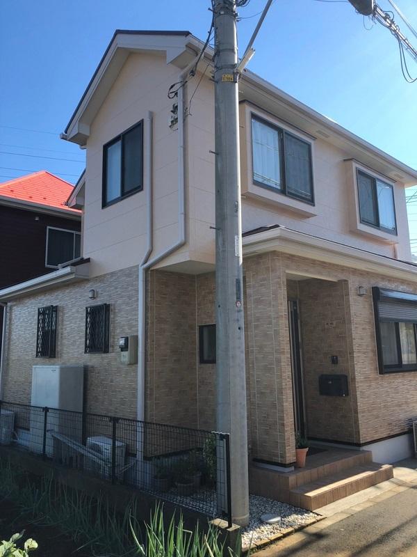 栃木県那須烏山市 外壁塗装 付帯部塗装 日本ペイント ピュアライドUVプロテクトクリアー