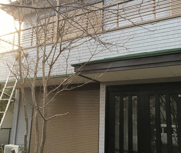 栃木県さくら市 外壁塗装 現場調査 クラック 剥離現象 コーキングの劣化