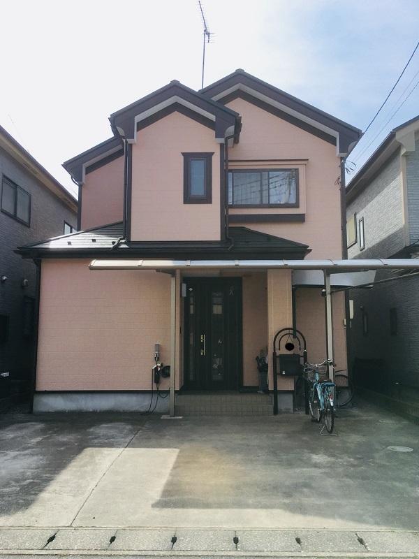 栃木県河内郡上三川町 外壁塗装 屋根塗装 AGCコーテック ルミステージXV DEWマット