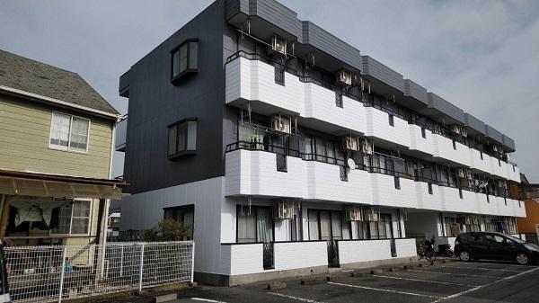 栃木県栃木市 外壁塗装 マンション