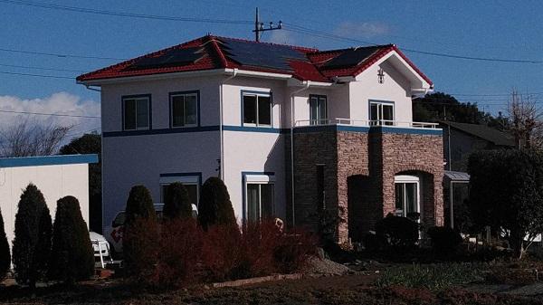 栃木県真岡市 屋根塗装 外壁塗装 車庫塗装