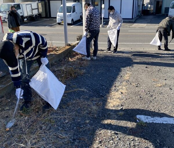 環境美化奉仕活動 清掃を行ってきました! (3)