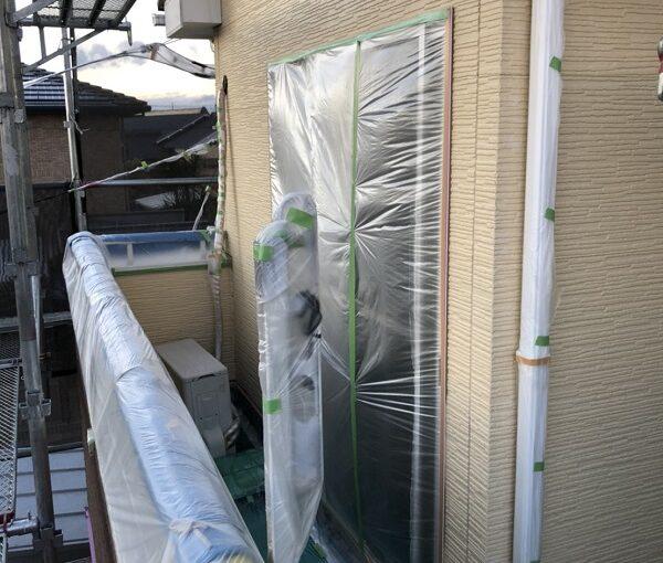 栃木県矢板市 外壁塗装 付帯部塗装 下地処理 養生とは (1)