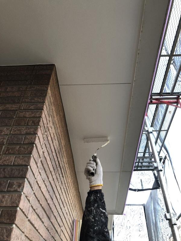 栃木県矢板市 外壁塗装 付帯部塗装 軒天塗装 日本ペイント ノキテンエース (1)
