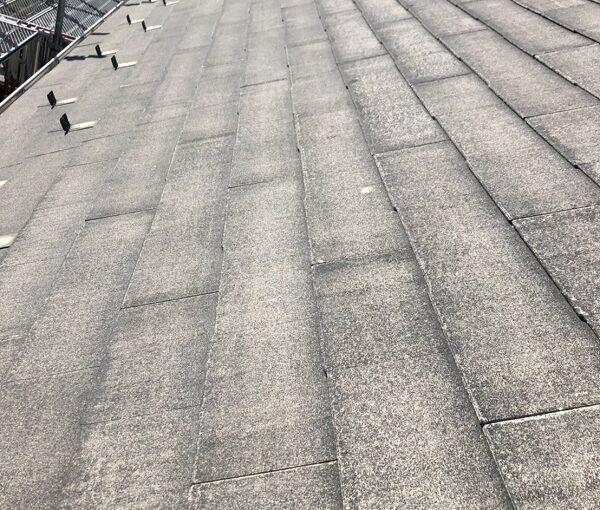 栃木県宇都宮市 屋根塗装・外壁塗装 下地処理 高圧洗浄作業 (9)