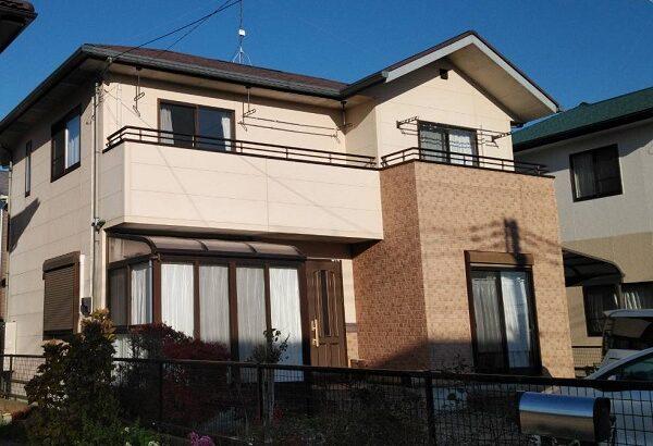 栃木県真岡市 O様邸 屋根塗装 外壁塗装