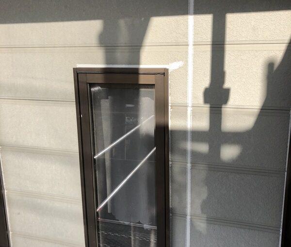 栃木県鹿沼市 屋根塗装・外壁塗装 下地処理 シーリング(コーキング)打ち替え工事 (2)