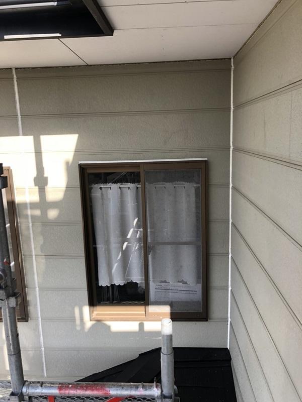 栃木県鹿沼市 屋根塗装・外壁塗装 下地処理 シーリング(コーキング)打ち替え工事 (1)