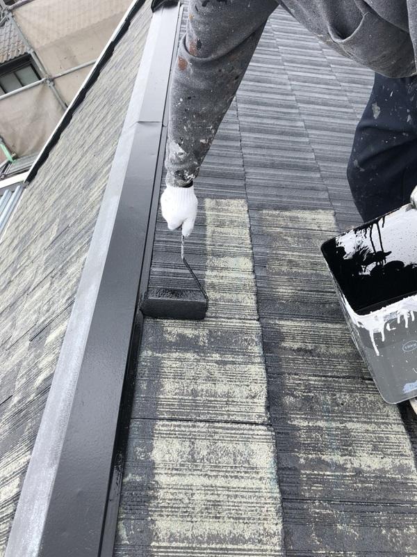 栃木県鹿沼市 屋根塗装・外壁塗装 セメント瓦の塗料の選択 関西ペイントのアレスダイナミックルーフ (2)