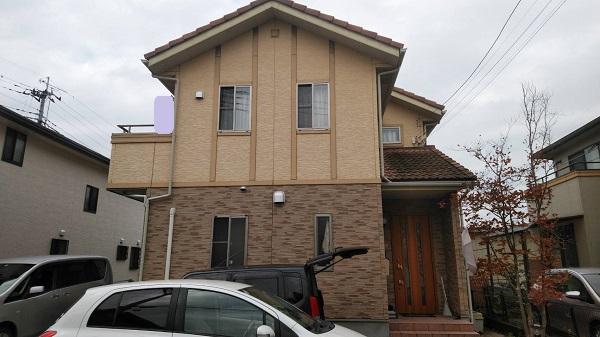 栃木県足利市 N様邸 屋根塗装・外壁塗装・付帯部塗装 (2)