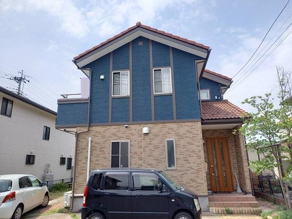 栃木県足利市 N様邸 屋根塗装・外壁塗装・付帯部塗装 (1)