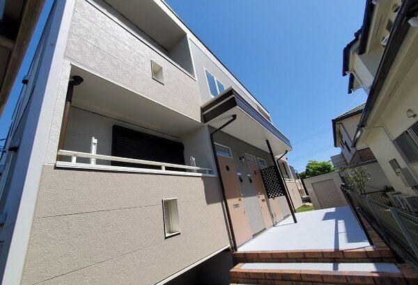 茨城県つくば市 アパート 外壁塗装・付帯部塗装