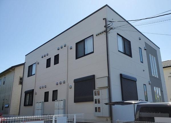 茨城県つくば市 アパート 外壁塗装・付帯部塗装 (3)